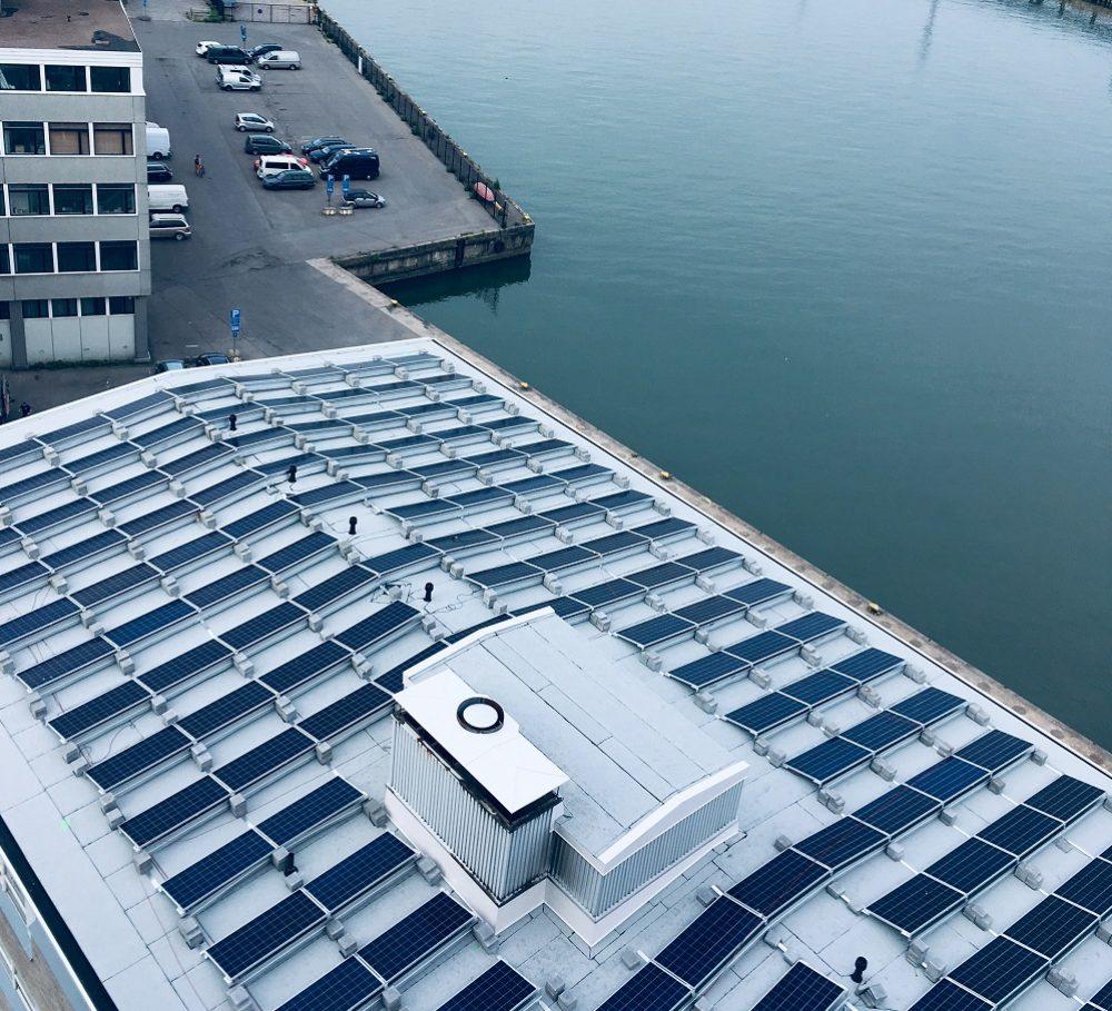 Viljava jatkaa vahvaa panostusta uusiutuvaan energiaan – Helsingin varastolle aurinkovoimala